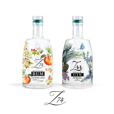Label Rum Z 74