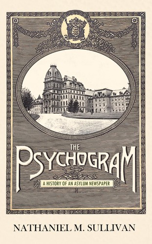 Fiction book cover with the title 'The Psychogram'