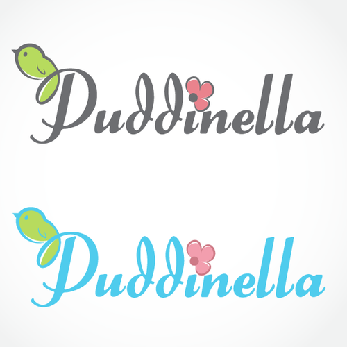 Gift logo with the title 'Puddinella'