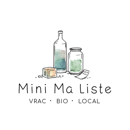 Eco design with the title 'Craft logo for Mini Ma liste'