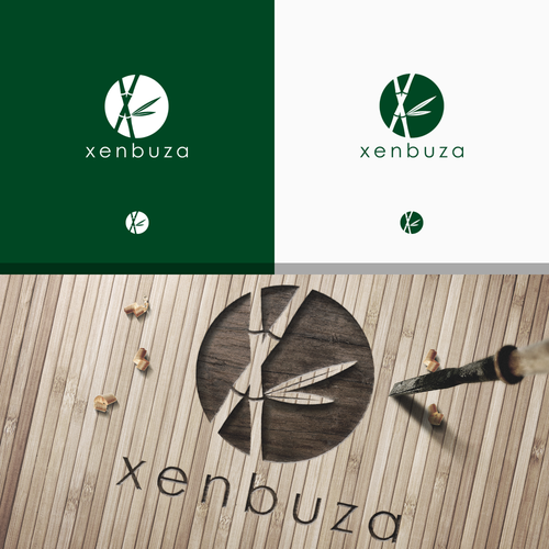 X logo with the title 'Logo for Xenbuza brand'