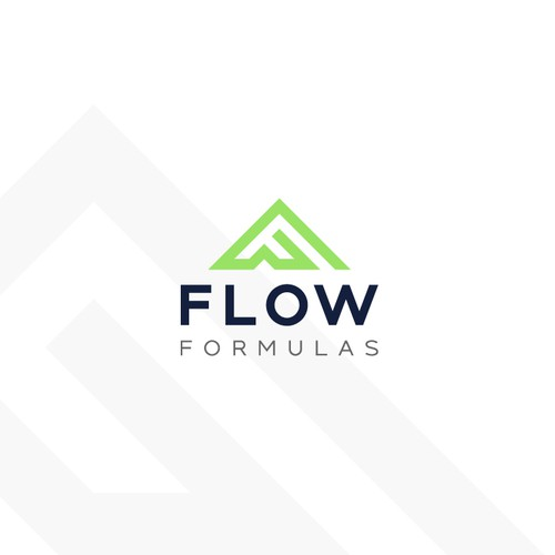 Athlete logo with the title 'Flow Formulas'