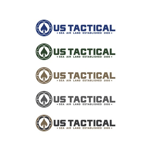 Armory logo with the title 'Design a logo for US Tactical Apparel Brand.'