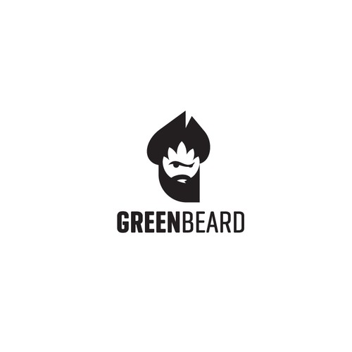 Head logo with the title 'Captain Greenbeard'