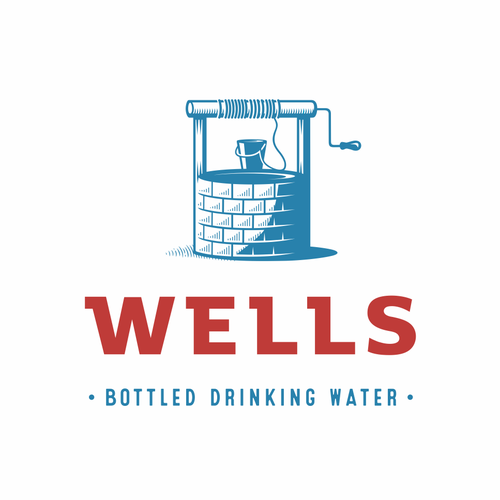 Spring design with the title 'Wells Water'