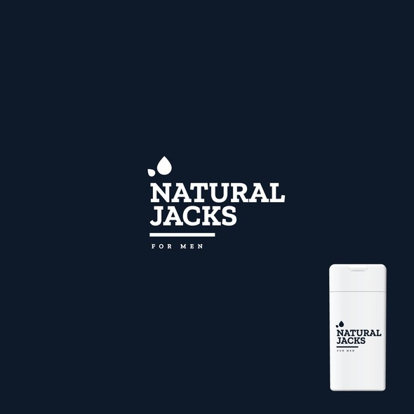 Skincare logo with the title 'Cosmetic logo'