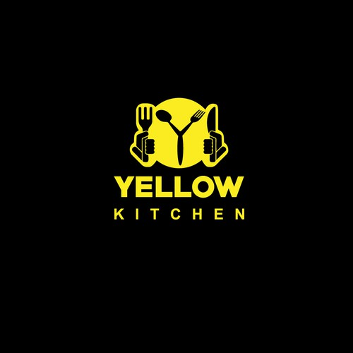 Y logo with the title 'Yellow Kitchen Logo'