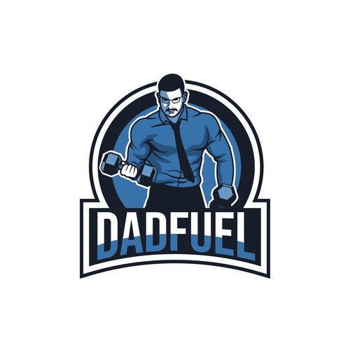 Dad logo with the title 'DadFuel'
