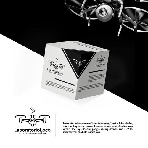 Crazy logo with the title 'Laboratorio Loco'