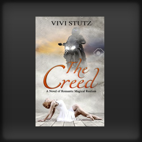 Fiction book cover with the title 'The Creed'