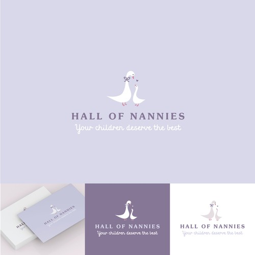 Baby boutique design with the title 'Hall of nannies'