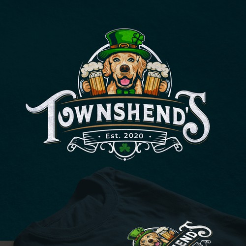 Irish logo with the title 'Townshend's'