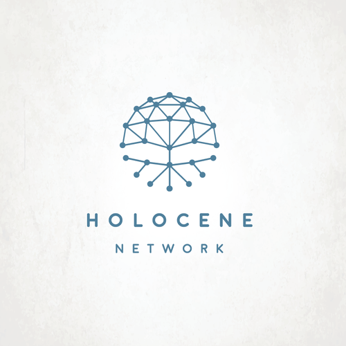 Marketing logo with the title 'Holocene'