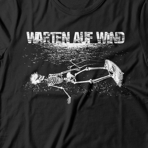 Skeleton t-shirt with the title 'vector'