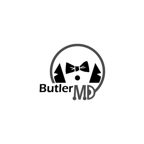 Butler design with the title 'Logo Design for Butler MD'