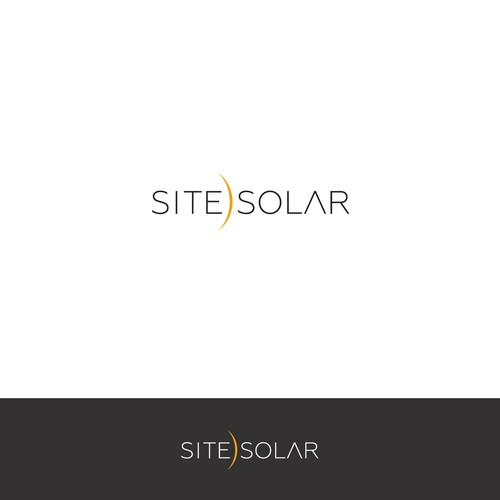 Laptop logo with the title 'logo for site)solar'
