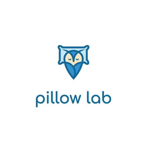 Pillow design with the title 'Pillow lab'