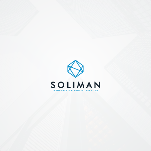 Integrity logo with the title 'Simple logo concept for Soliman'