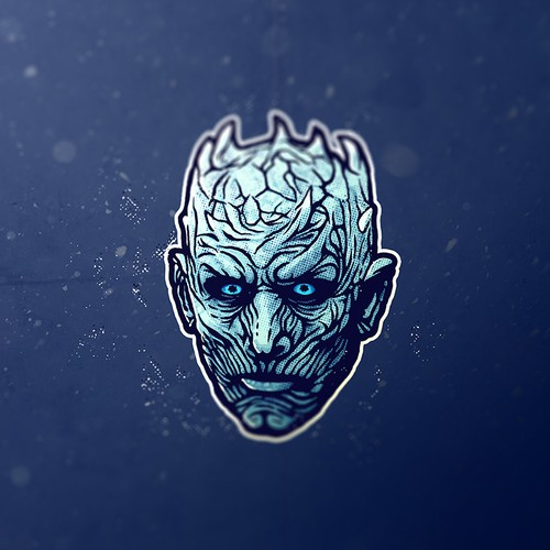 Printing logo with the title 'Night King'