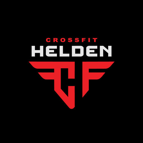 Nutrition design with the title 'CrossFit HELDEN'