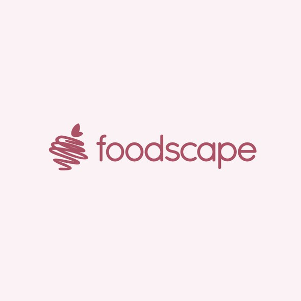 Loop logo with the title 'foodscape'