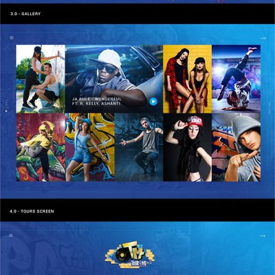 Creative Music Agency Website