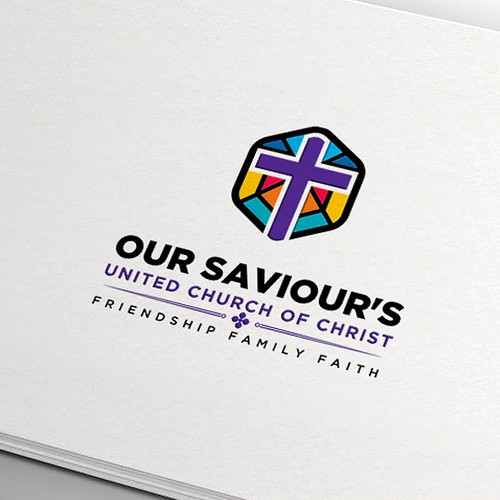 Church brand with the title 'Our Savior's UCC Church'