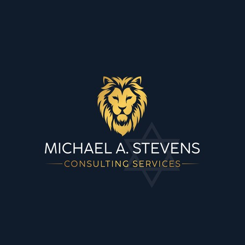Persian logo with the title 'Michael A. Stevens Logo'