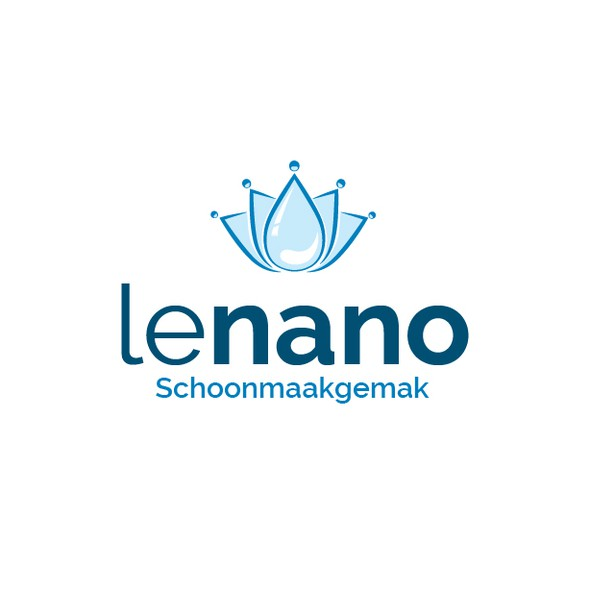 Nanotech logo with the title 'Design an awesome logo for nanotechnological based cleaning product company'