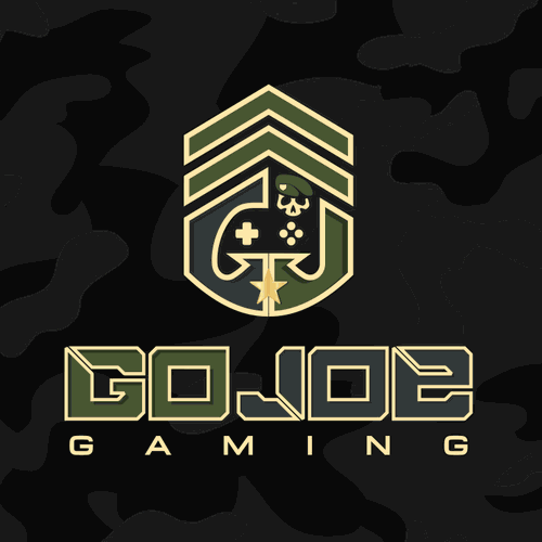Military logo with the title 'Logo for a military based design for our video gaming truck'
