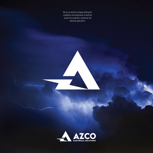 Lightning design with the title 'High voltage design for Electrical installation company'