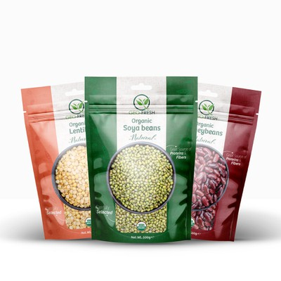Organic Beaned Food
