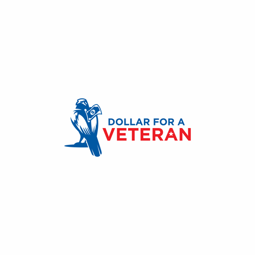 """Patriot logo with the title 'Submition for """"Dollar For A Veteran""""'"""