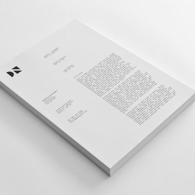 Letterhead Design For Dingfeld Nakamura