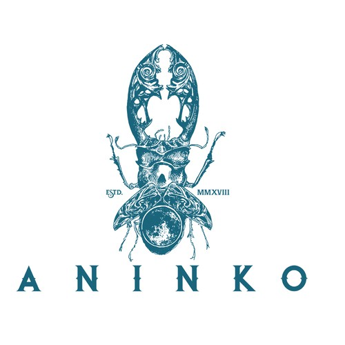 Carpentry design with the title 'Aninko'