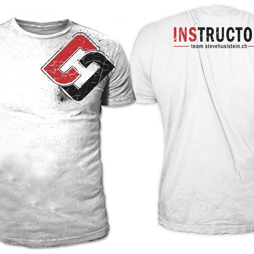 Business t-shirt with the title 'INSTRUCTOR'