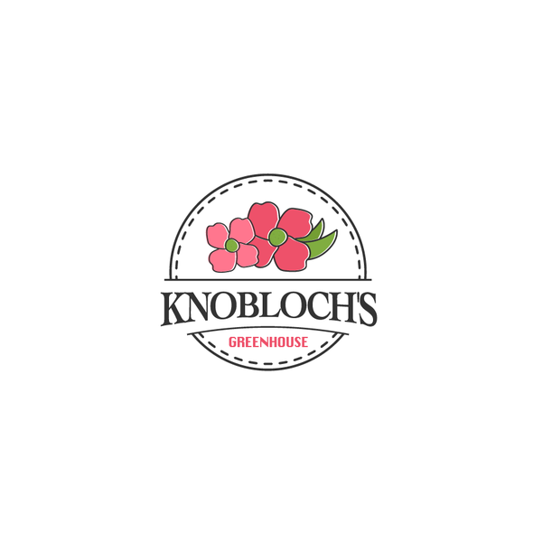 Greenhouse design with the title 'Logo Knobloch's'