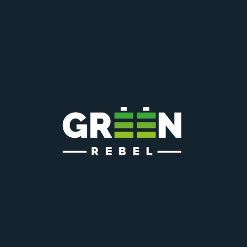Rebel logo with the title 'Green Rebel'