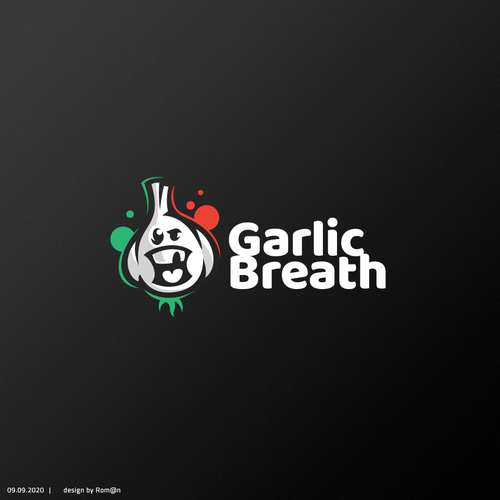 Smile logo with the title 'Garlic Breath'