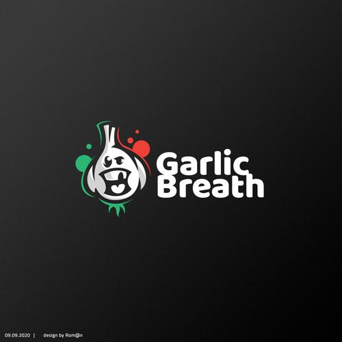Bud logo with the title 'Garlic Breath'