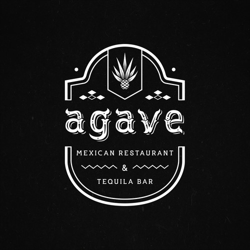 Agave design with the title 'agave'