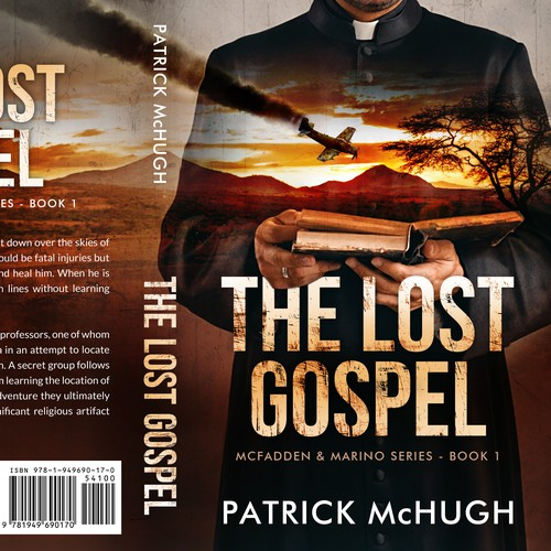Action design with the title 'The Lost Gospel'