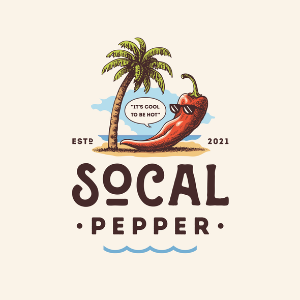 Sauce logo with the title 'Socal Pepper'