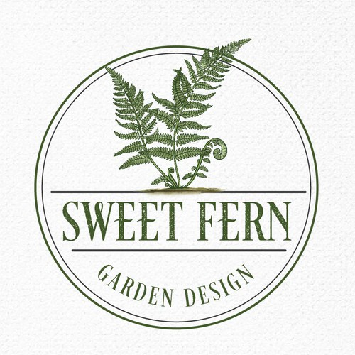 Green logo with the title 'SWEET FERN'