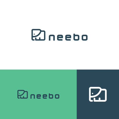 Folder logo with the title 'bold logo data'
