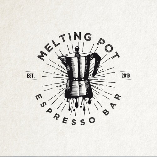 Melting logo with the title 'Melting Pot '