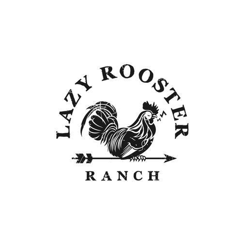 Sign logo with the title 'Logo for ranch signs'