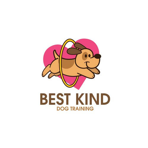 Cute dog design with the title 'Dog Training'