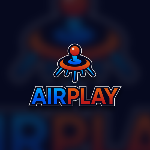 Pinball logo with the title 'AIRPLAY'