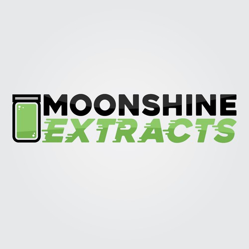 Mason logo with the title 'Moonshine Extracts'